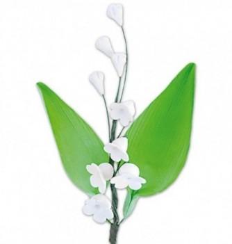 Bouquet de Fleur en Pastillage Muguet