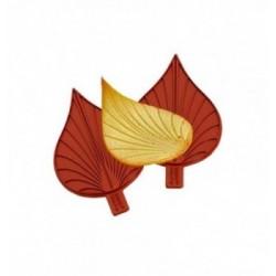 Moule dentelle fresque couronne royale 215x65mm