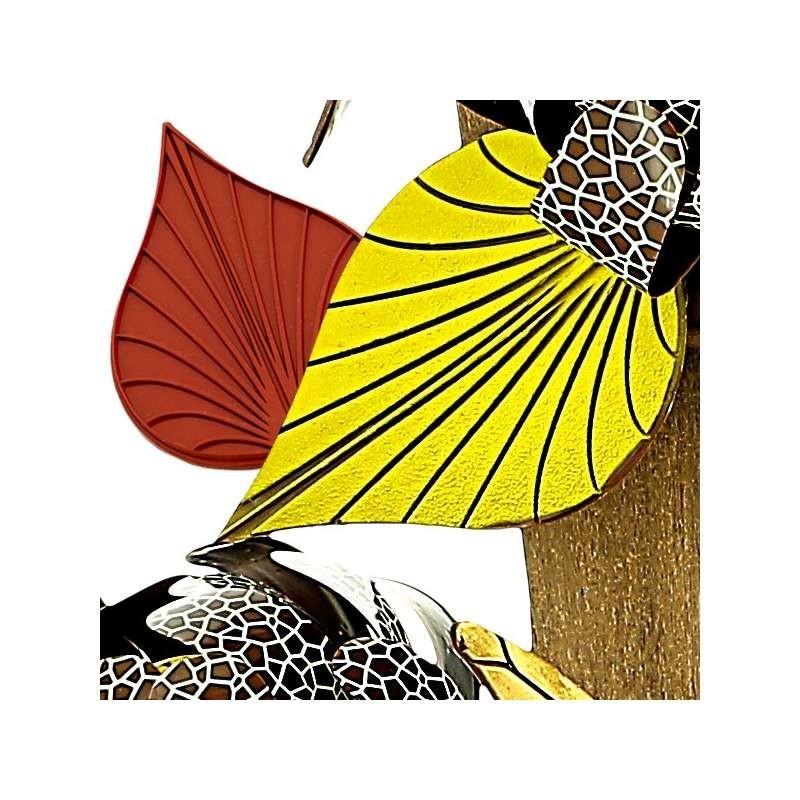 Moule dentelle fresque couronne des îles 215x120mm
