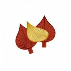 Moule dentelle fresque couronne royale 180x180mm