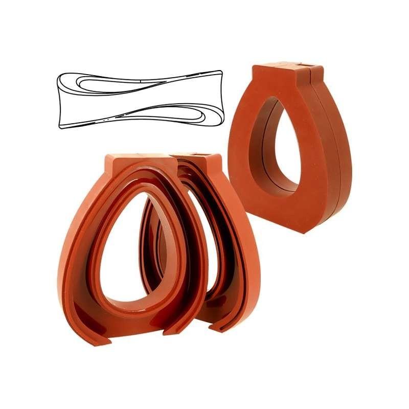Cercles à tarte inox 20cm