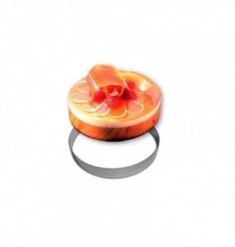 Stainless Steel Ring - diam.11 cm - H3.5 cm