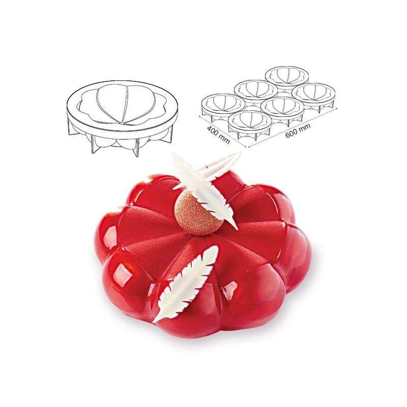 Cercles inox Mousse 28cm h.4,5cm