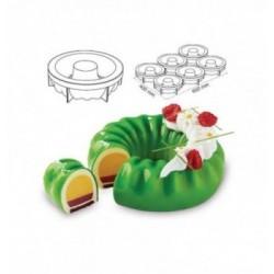 Cercle Mousse Pâtisserie Inox 18cm