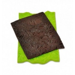 Tapis dentelle silicone frise fleur 80,5x390mm