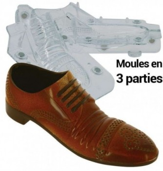 Moule en  parties - Chocolat - Chaussure Homme Ville
