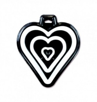 Sillicone Molds - 3 Rounded Hearts
