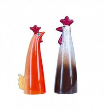 Moule Chocolat Poule & Coq Design Pâques Duo
