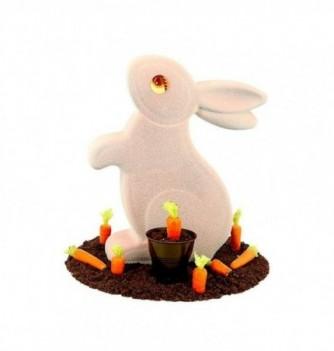 Chocolate Mold - Standing Rabbit  1 pc - 172x54x202mm