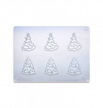 Chocolate Mold - Christmas Tree x 1 195 x 145 mm