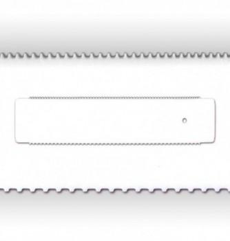 Medium Double Face Comb-Ruler - 340 x 80 mm