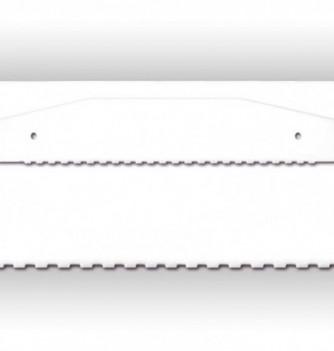 1 side decorative plastic Comb-Ruler - 430 x 80 mm