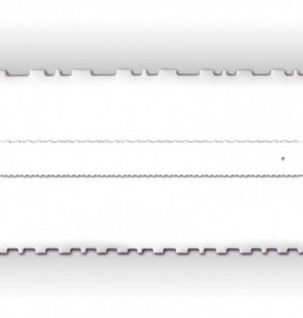 Big Double Face Comb-Ruler - 700 x 80 mm