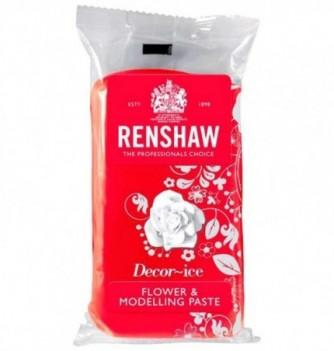 Gumpaste Renshaw pour Modelage Rouge