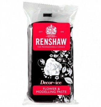 Gumpaste Renshaw pour Modelage Noire