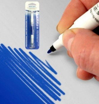 Double-Sided Food Pen -Blue