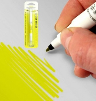 Double-Sided Food Pen - Yellow