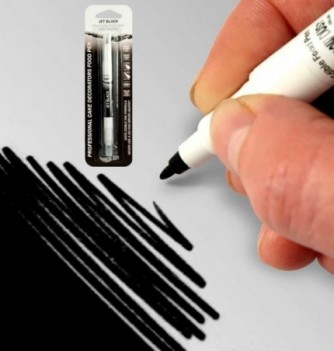 Double-Sided Food Pen - Black