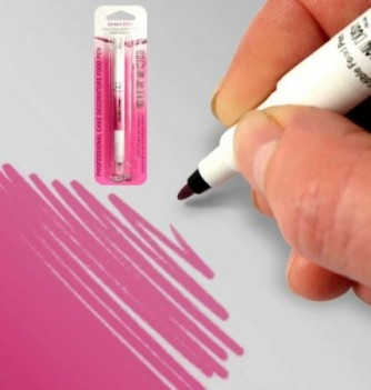 Double-Sided Food Pen - Pink