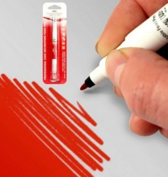 Double-Sided Food Pen - Red