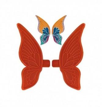 Moule Empreinte Silicone Aile Large de Papillon Mini