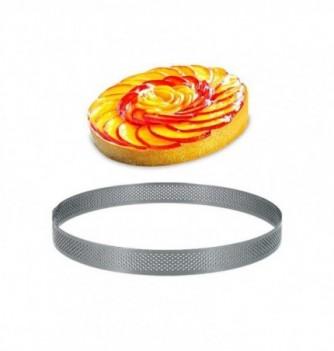Cercle Inox Pâtisserie 20cm Micro-Perforé ht.2cm