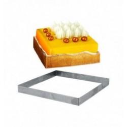 Cadre à Pâtisserie Inox 565x365mm ht.35mm