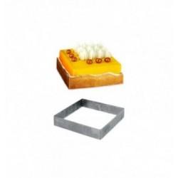 Boîtes Pâtissières Carrées Blanc 23x23x10cm