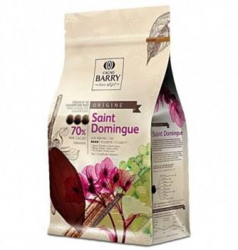 Dark Couverture chocolate Saint-Domingue 70% 1 kg