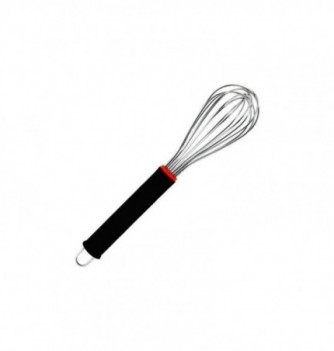 Stainless Steel Whisk 26cm with rubber grips