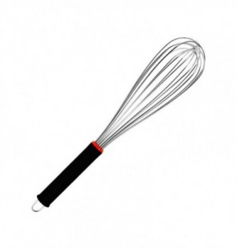 Stainless Steel Whisk 36cm with rubber grips