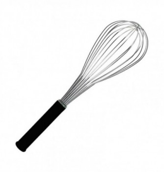 Stainless Steel Whisk ballon 36cm with rubber grip