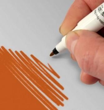 Double-Sided Food Pen - Orange