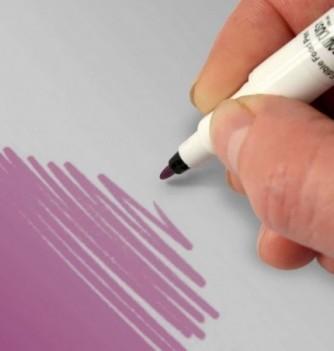 Double-Sided Food Pen - Purple