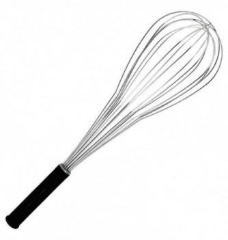 Stainless Steel Whisk ballon 46cm with nylon grip