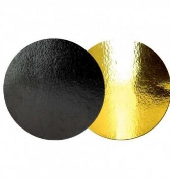 Cake Board - Black - Diam 24 cm - x 10