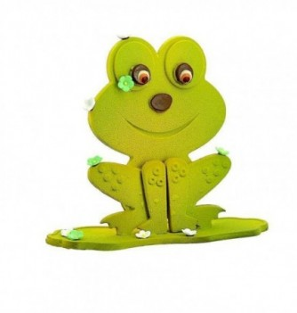 Chocolate Plastic Mold - Set of 2 frogs - 156x147 mm