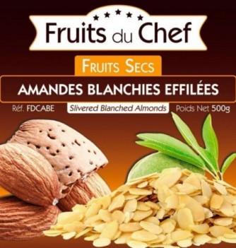 Slivered blanched almonds 500gr