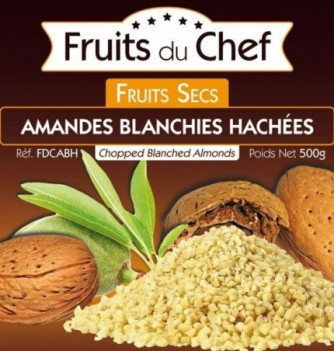 Chopped blanched almonds 500gr