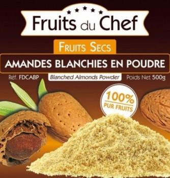 Blanched almonds powder 500gr