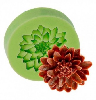 Silicone Mold for Decorations - Carnation Flower 4.5x4.5cm