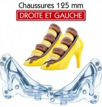 Moule Chocolat Chaussure Talon Paire d'Escarpins
