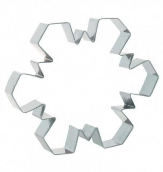 Stainless Steel Cutters - Snowflakes x 3