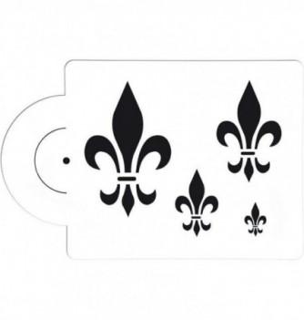 Plastic Stencil - Lilies - x 4 - 25x20 mm 15x25mm to...