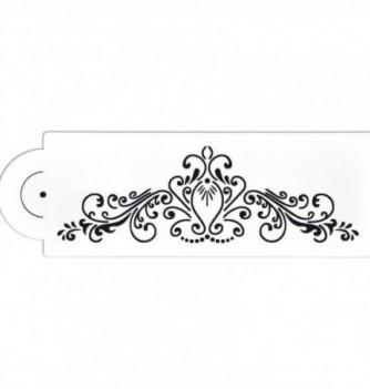 Plastic Stencil - Arabesque 215x70mm