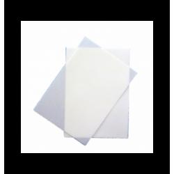 Regle Pochoir plastique 580x60 mm losange avec cercle