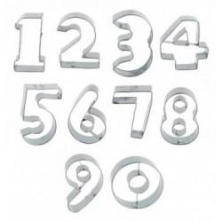 Regle Pochoir plastique 580x60 mm Damier losange