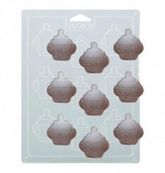 Moule Chocolat Biberons Thermoformé