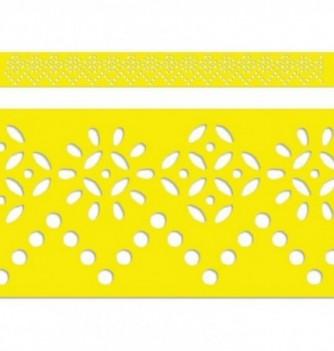 regle-pochoir-souple-pour-gateau-h40mm-fleur-mosaique