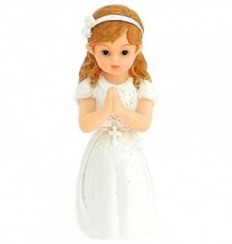 Figurine for cake Communiant Girl 11cm